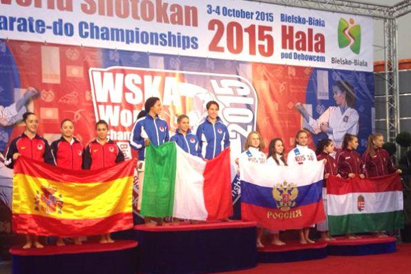 Campionato mondiale WSKA - Italia prima classificata!